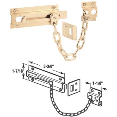 Defender Security Guard Door Chain Bolt
