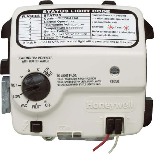 Reliance Honeywell Gas Control Water Heater Thermostat