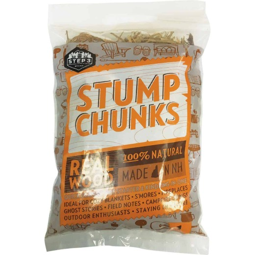 Stump Chunks 0.075 Cu. Ft. Kindling and Fire Starter