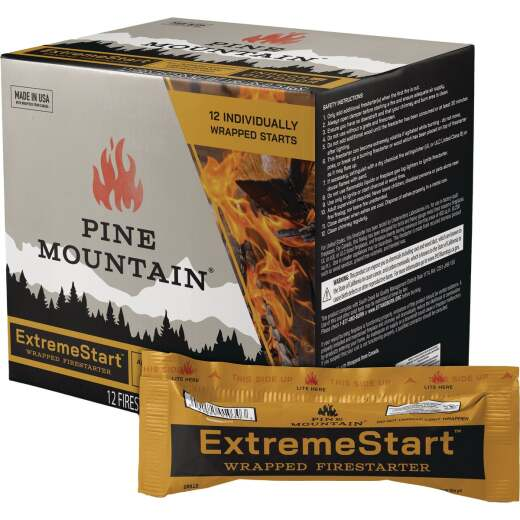 Pine Mountain ExtremeStart Fire Starter (12-Pack)