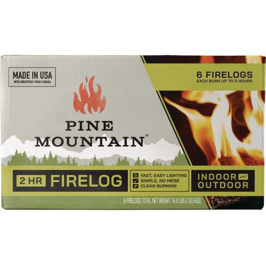 Pine Mountain 2-Hour Classic Fire Log