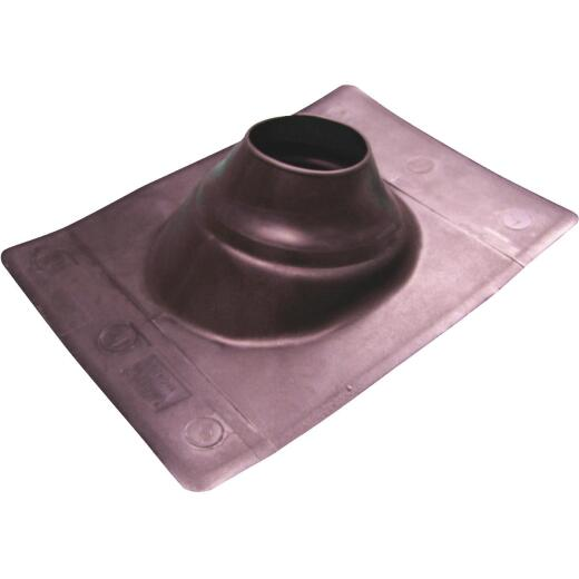 Genova Snap-Fit 3 In. Thermoplastic Roof Pipe Flashing