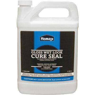 Homax Clear Natural Wet-Look Concrete Sealer, 1 Gal.