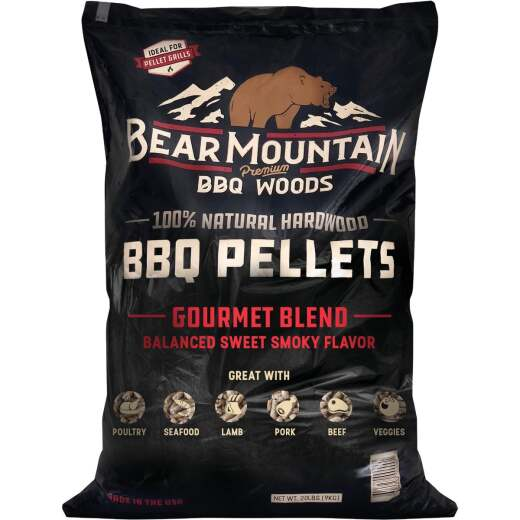 Bear Mountain BBQ Premium Woods 20 Lb. Gourmet Blend Wood Pellet
