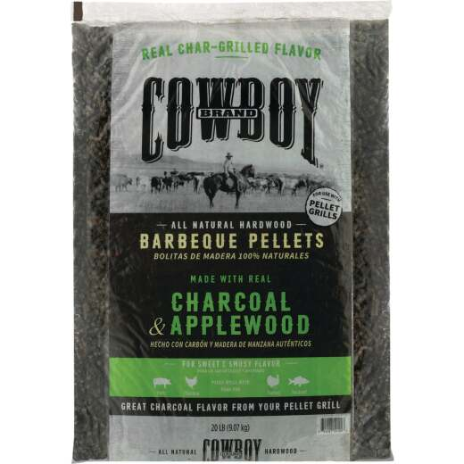 Cowboy 20 Lb. Apple Charcoal Pellets