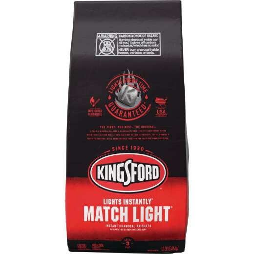 Kingsford Match Light 12 Lb. Briquets Charcoal