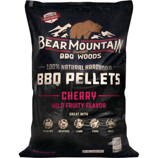 Bear Mountain BBQ Premium Woods 20 Lb. Cherry Wood Pellet